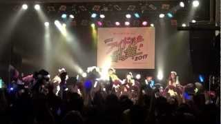 9nineが日本全国を飛び回った、日本縦断アイドル乱舞2013の様子です! 3...