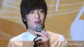 2010 08 23 Asia Song Festival with UNICEF Press Conference @ Lee MinHo