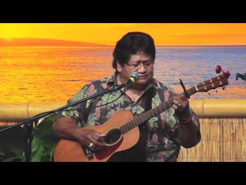 """I Kona"" @SlackKeyShow.com Ledward Kaapana Master Hawaiian Slack Key Guitarist"