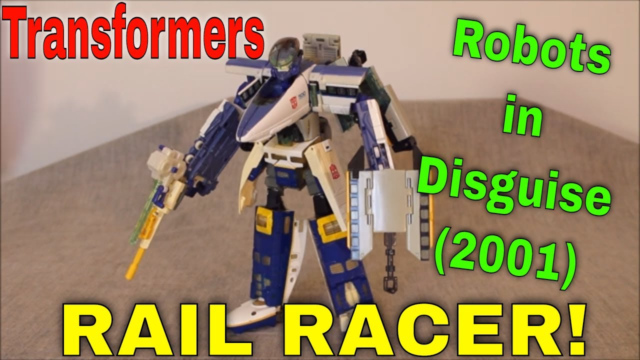 Ridin' the Rails: RiD 2001 Rail Racer! By GotBot