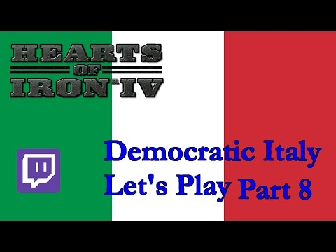HoI4 Democratic Italy 8: an Italian in Bucharest. And in Vienna. And in Bratislava