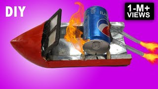 Download lagu How to Make a Steam Boat using PEPSI bottle