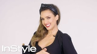 Jessica Alba Looks Back At Her Past InStyle Covers | 25th Anniversary | InStyle