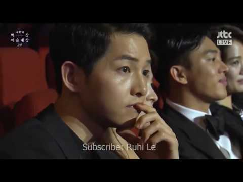 160603 All Scenes Song Joong Ki & Song Hye Kyo in 52nd BaekSang Arts Award 2016