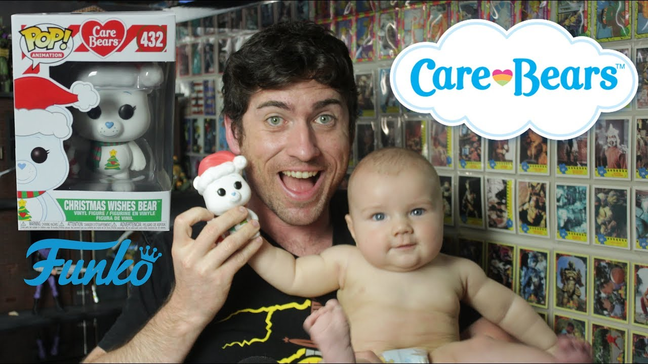 Christmas Wishes Bear.Christmas Wishes Care Bear Funko Pop Vinyl Unboxing Nerd Daddy