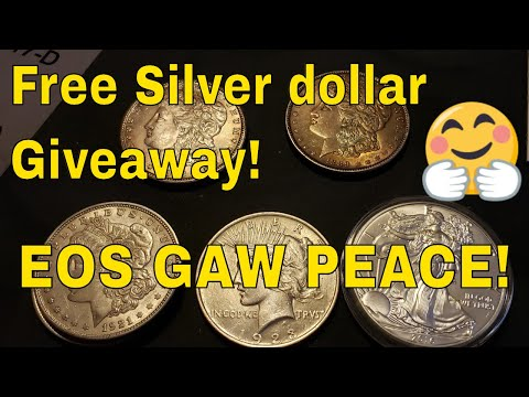 Silver Dollar Giveaway!