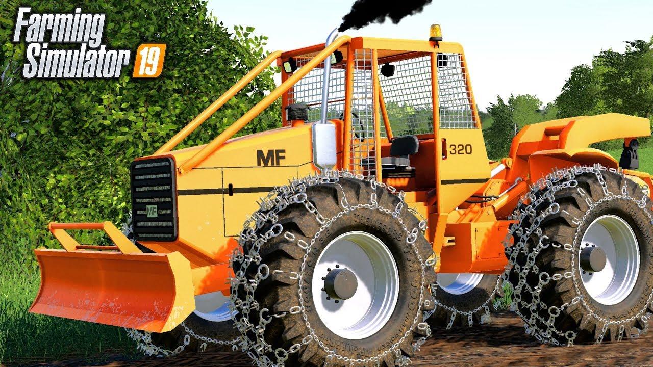 NEW MF320 SKIDDER - Farming Simulator 19
