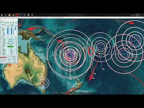 12/11/2018 -- Major Earthquake activity -- M7.1 in South Atlantic + MAGMA HOT SPOTS in OR, CA, WA