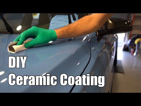 How to Ceramic Coat Your Car - Easy DIY Tutorial (Detail Included)