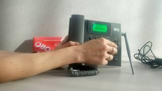 оНЛАЙН ТРЕЙД. РУ. Стационарный GSM телефон BQ-2052 Point Grey