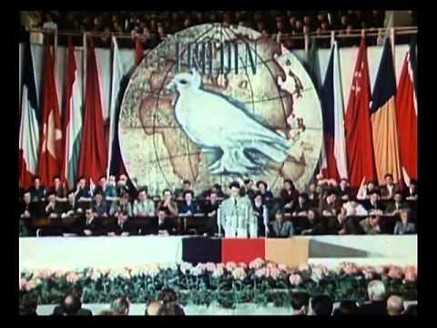 East Germany propaganda- East Berlin 1950