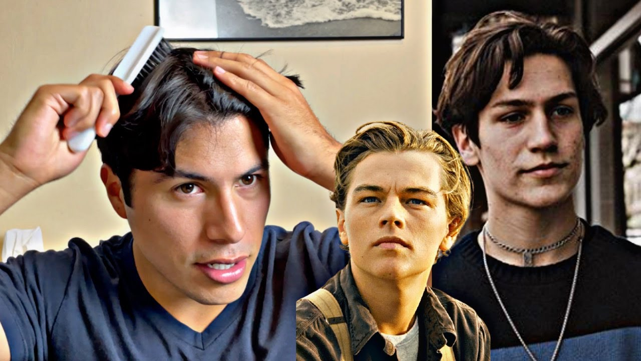 I Tried The EBoy Hairstyle For A Day ! (lil huddy, Leonardo DiCaprio Inspired)