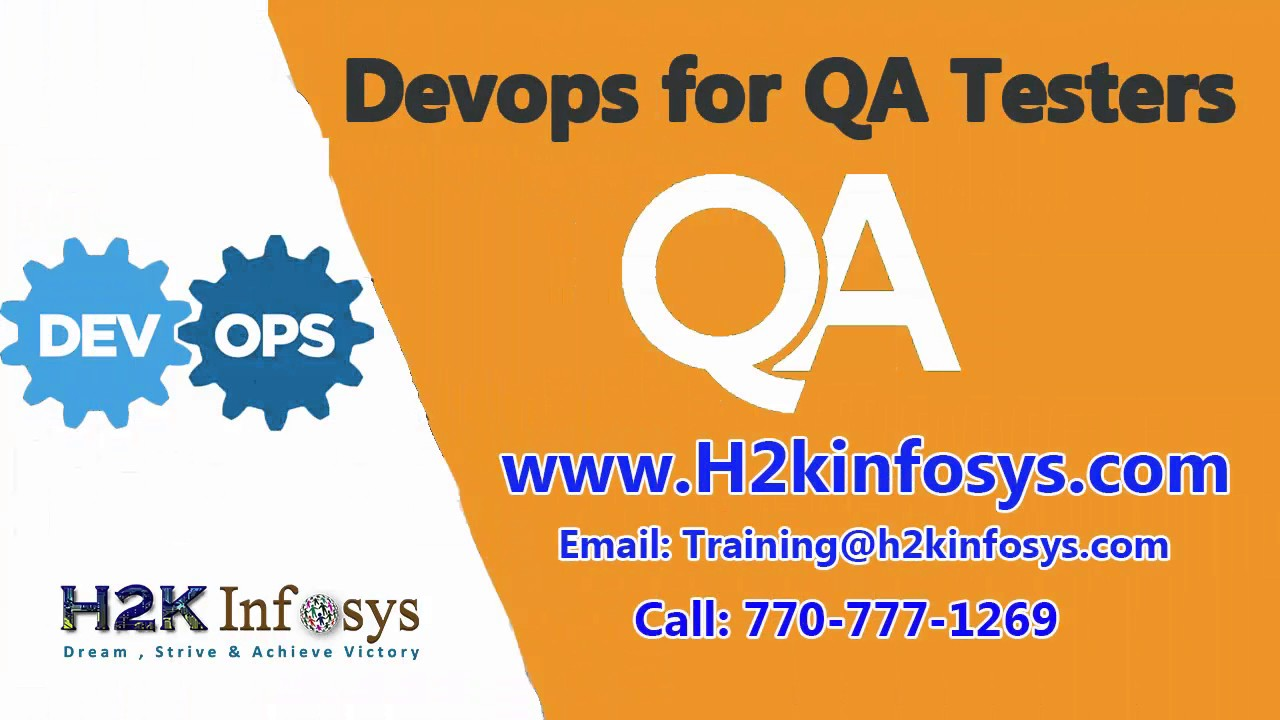 DevOps Online Training | DevOps Course | Online QA Testing Training