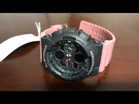 Unboxing Women's Casio G-Shock Watch GMAS140-4A GMA-S140