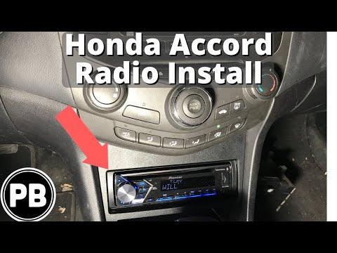 2003 - 2007 Honda Accord New Bluetooth Radio Install