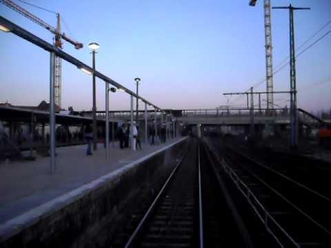 Führerstandsmitfahrt S-Bahn Berlin Ostbahnhof - Karlshorst