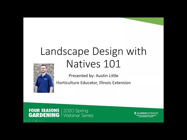 Landscape Design with Natives Austin Little