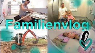 Familienvlog   Luna´s neues Bett !   Flo und der Bagger   Lumelowu