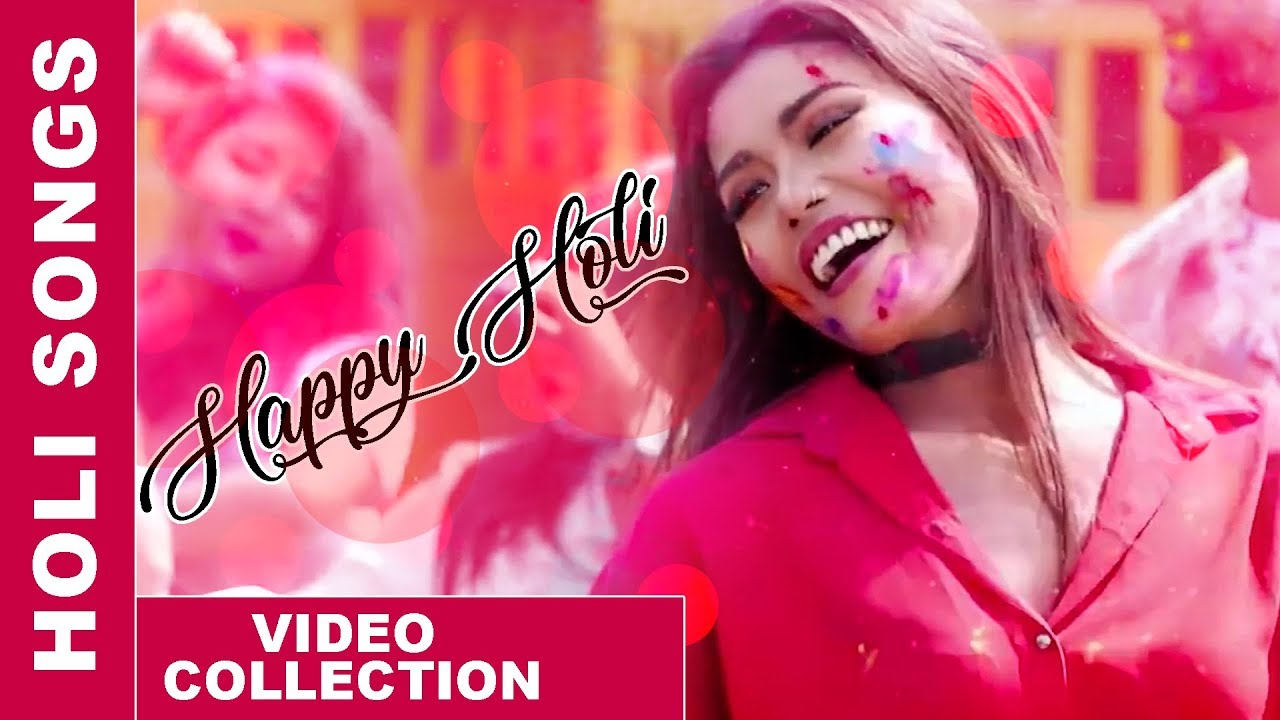 Holi special nepali (dance music videos) songs collection | hit.