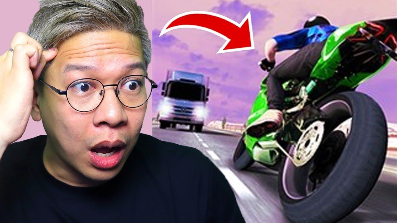 NGEBUT DI JALANAN PAKAI MOTOR MATIC!!