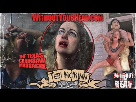 TERI MCMINN Pam of THE TEXAS CHAINSAW MASSACRE  Without Your Head Podcast
