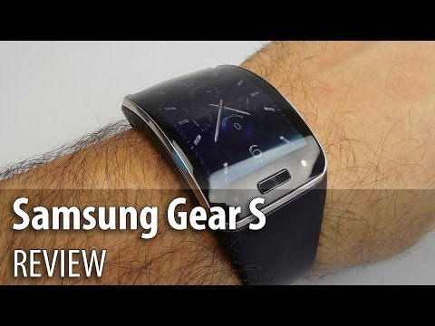 Samsung Gear S Review (3G Smartwatch/ Full HD/ English) - GSMDome.com