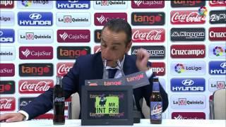 Rueda de prensa de José Luis Oltra tras el Córdoba CF vs RCD Mallorca (0-2)
