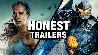Honest Trailers - Tomb Raider / Pacific Rim: Uprising