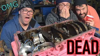 6.0 TURBO LS AUTOPSY (WARNING: Explicit Engine Content)   Determining Cause, Mode, Manner of Death