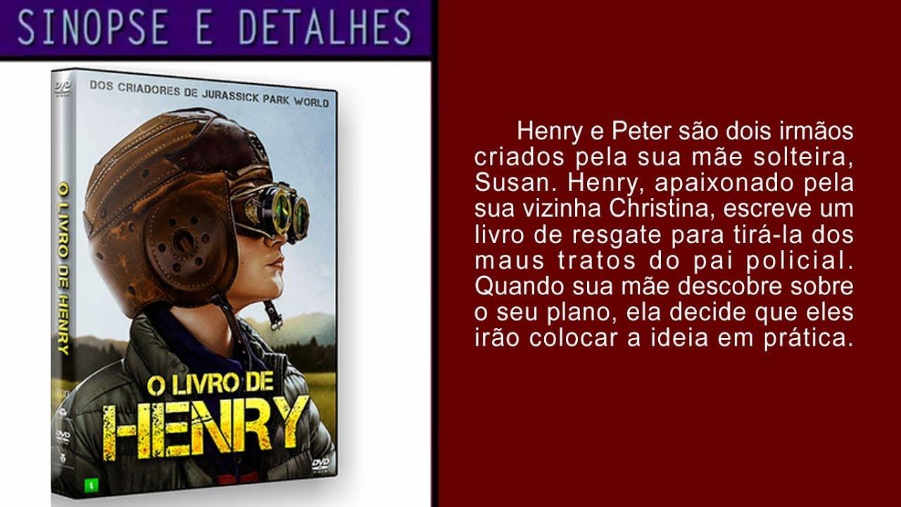 O Livro De Henry Filme Completo Dublado - Resenhas de Livros