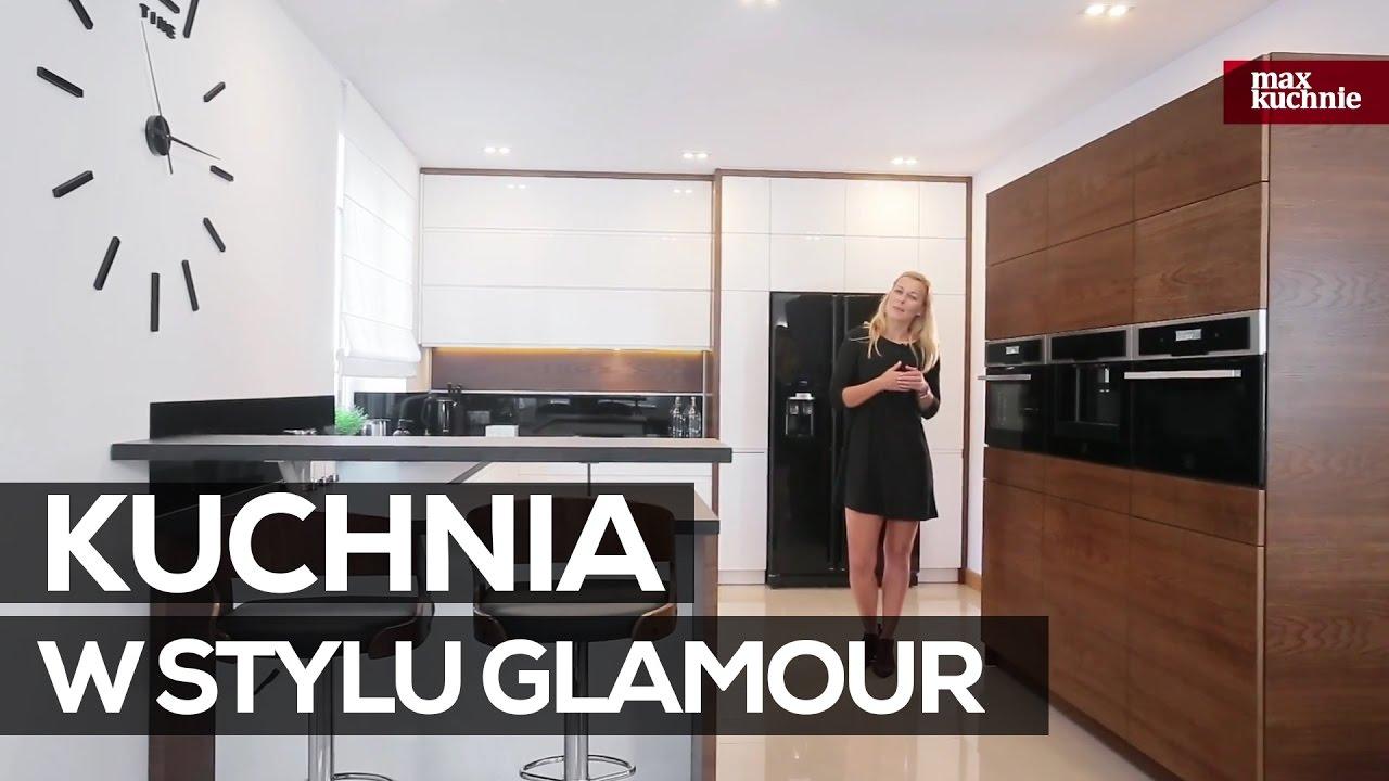 Kuchnia W Stylu Glamour Studio Max Kuchnie A K Chrzanow Youtube