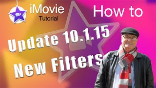 New Filters iMovie update 10.1.15 - iMovie Tutorial - COMIC VIDEO Cartoon