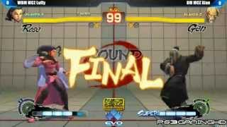 EVO 2K13: SSF4 AE Xian (Gen) vs Luffy (Rose) [HD]