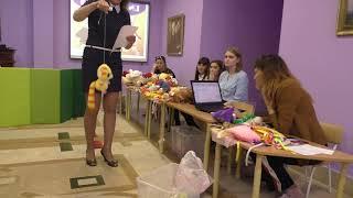 Практикум по программе Кукляндия в детском саду ФИОЛЕТОВАЯ КОРОВА