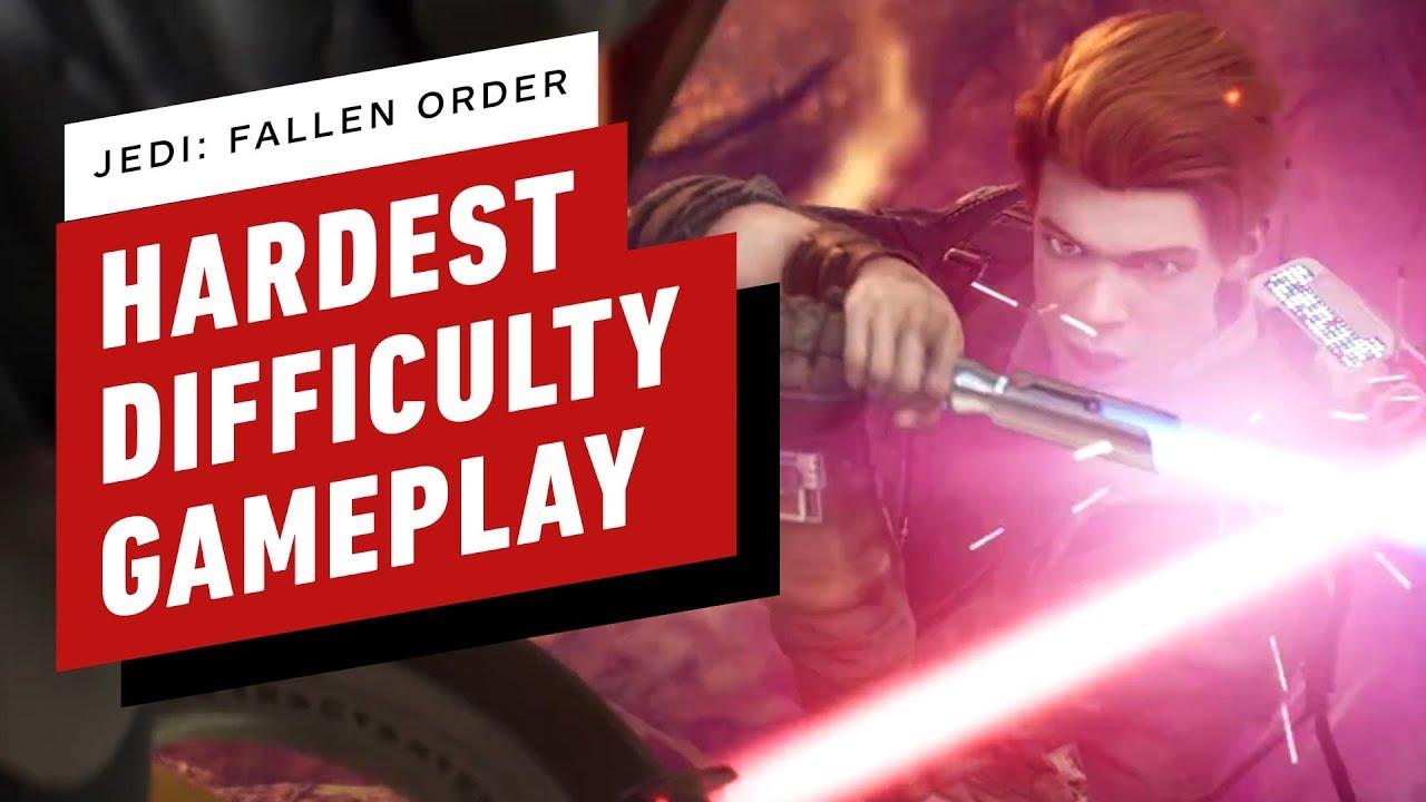 Star Wars Jedi: Fallen Order - Jedi Grão-Mestre Dificuldade Combate Arena + vídeo