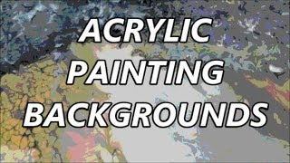 ACRYLIC PAINTING*several techniques*