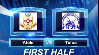 Tonga Secondary Schools U18 Rugby FINAL 2018 - Tupou College Toloa vs Tonga College