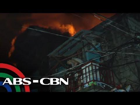 Nasa 100 pamilya nawalan ng tirahan sa sunog sa Caloocan | TV Patrol