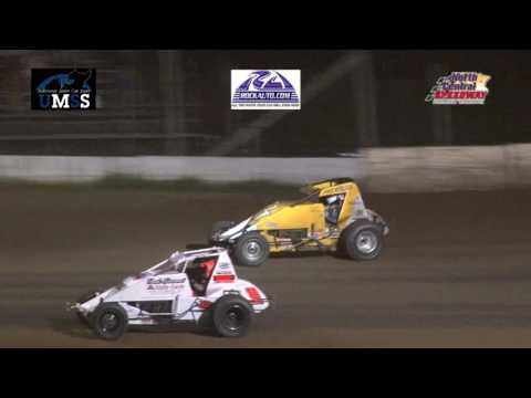 6-18-2016 UMSS Non Wing Sprints North Central Speedway