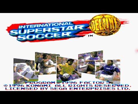 International Superstar Soccer Deluxe (Sega Mega Drive/Genesis).