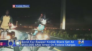 Rapper Kodak Black Pleads Not Guilty On Federal Weapons Charges