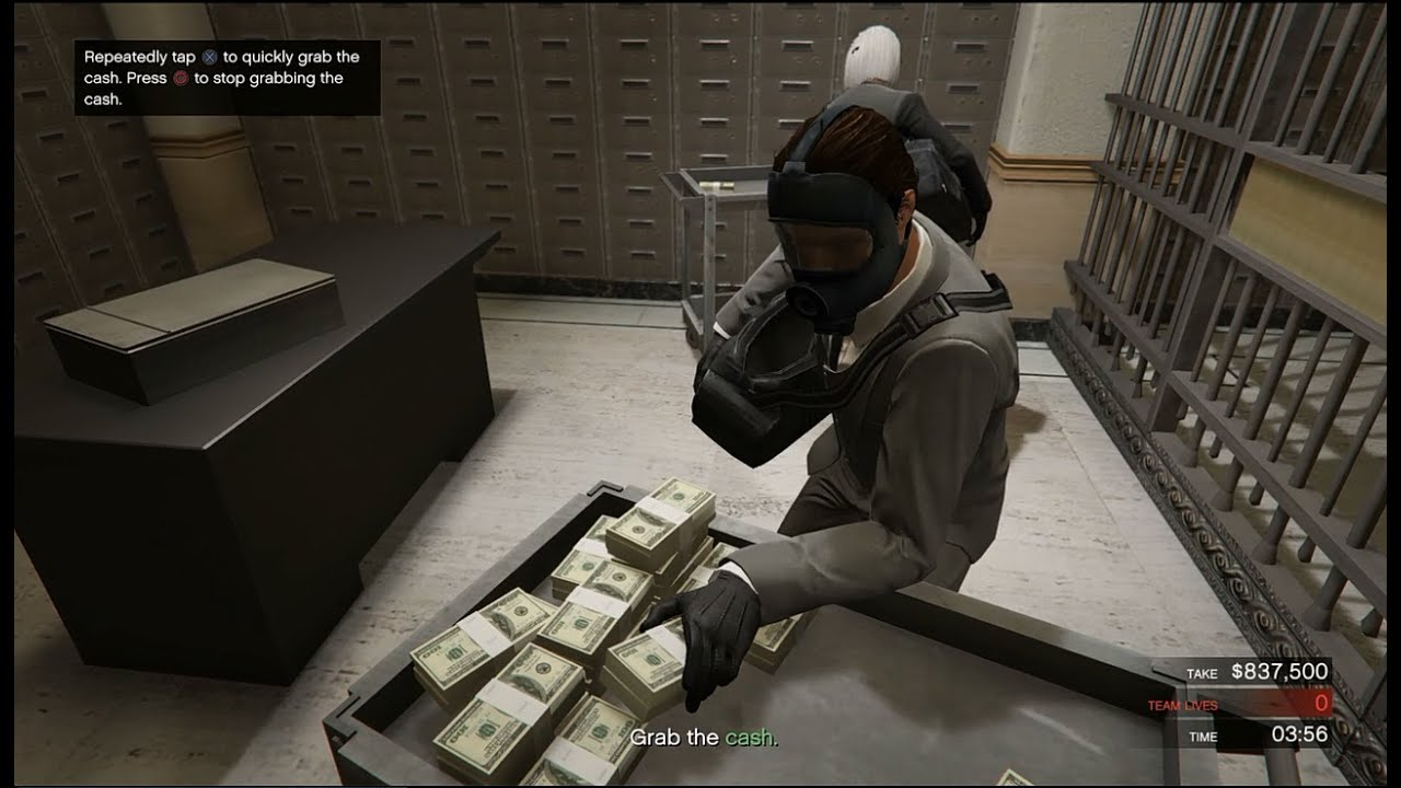 gta 5 how to get himane labs heist
