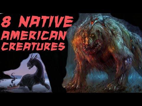 8 Terrifying Native American Creatures