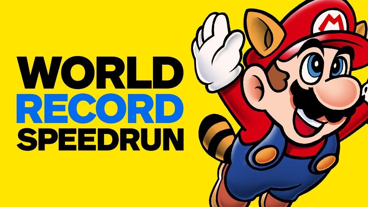 Super Mario Bros  3 World Record Speedrun