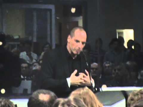 Yanis Varoufakis speaking at the Greek Community of Melbourne - Oct 2012