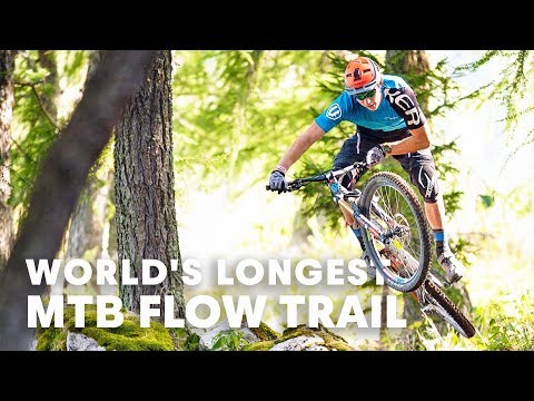 Is this the world's longest MTB Flow Trail? | MTB Destinatio