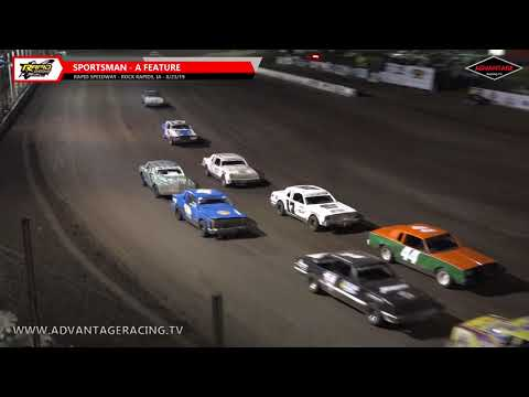 USMTS Heats/Sportsman Feature - Rapid Speedway - 8/23/19