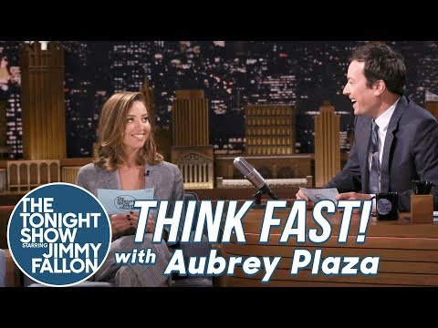 Thumbnail: Think Fast! with Aubrey Plaza