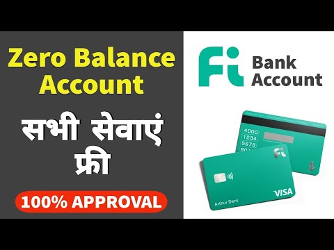 Download Fi Bank Zero Balance Account | 100% Early Access Approval | सभी सेवाएं बिल्कुल फ्री 🔥🔥