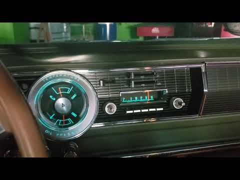 1966 Dodge Charger Working Dash Cluster